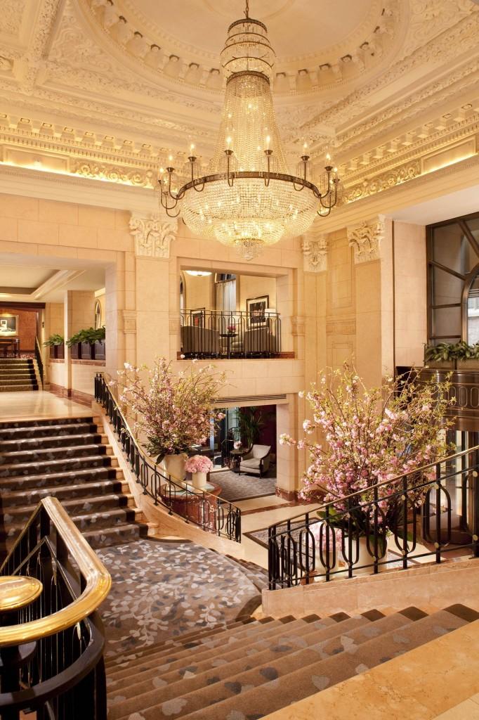 Peninsula NY lobby
