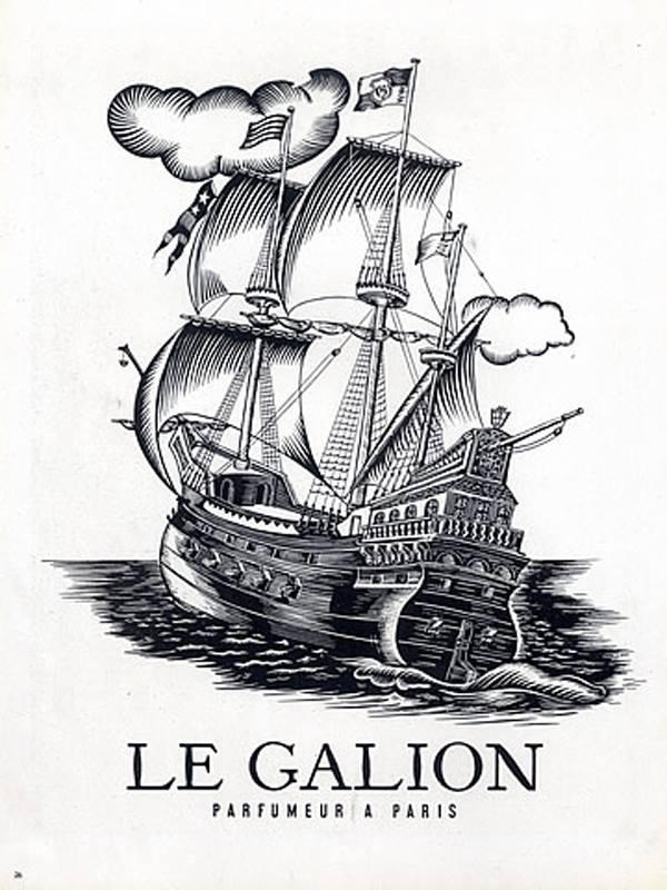 publicité Le Galion par Louis Ferrand