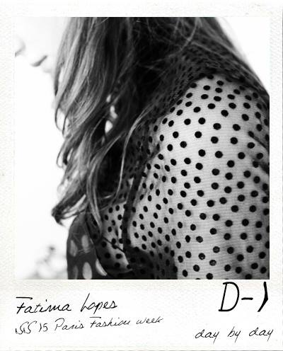 D-1 Fitting 02 Fashion show Fatima Lopes