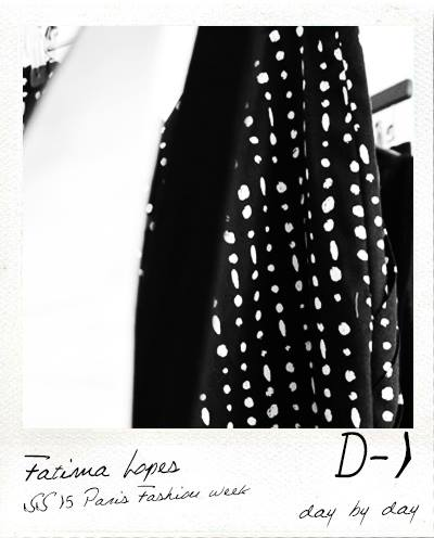 D-1 Fitting Fashion show Fatima Lopes
