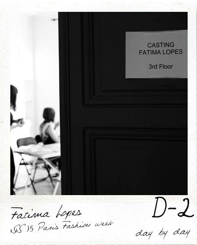 D-2 Casting Fashion show Fatima Lopes
