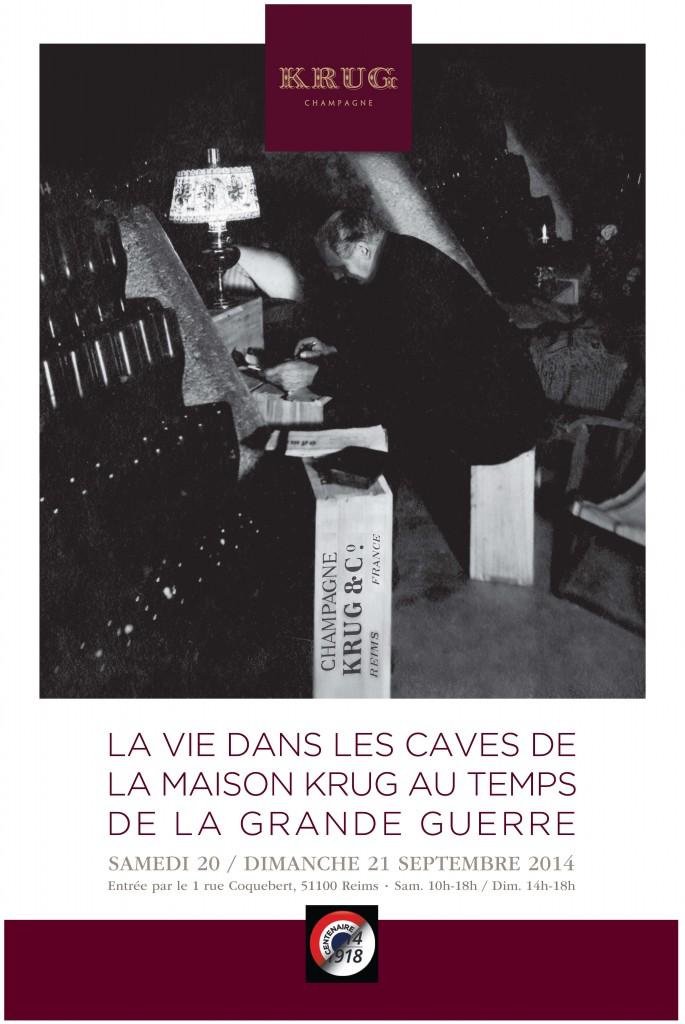 Krug - Journées Européennes du Patrimoines 2014 - affiche