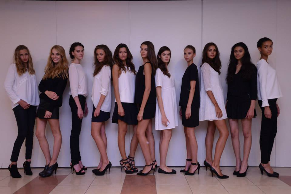 Elite Model Look France finalistes au chateau