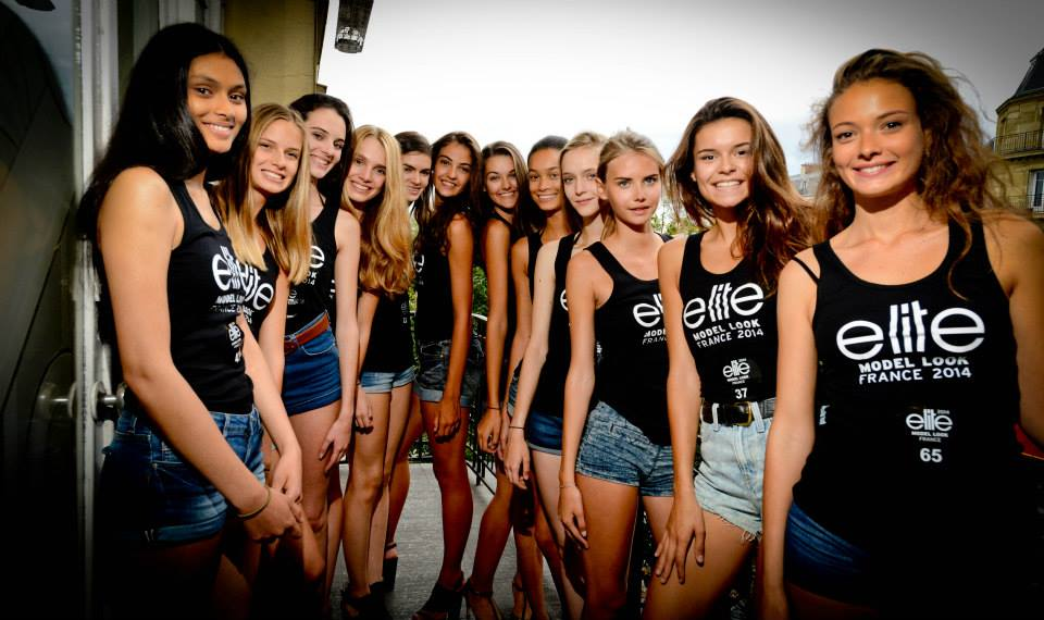 Elite Model Look France finalistes casting national