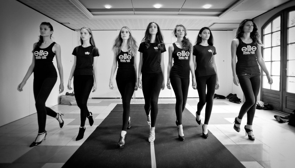 Elite Model Look France finalistes cours de marche 02