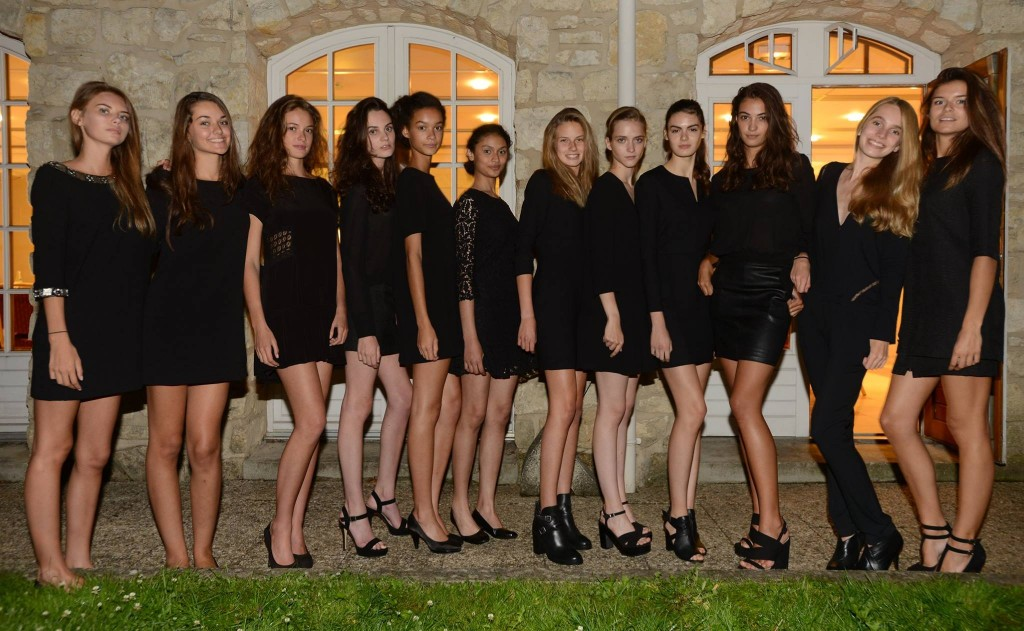 Elite Model Look France finalistes en Bash paris