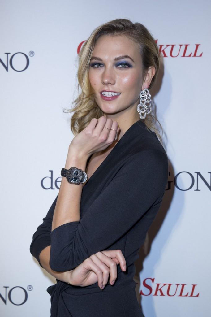 Karlie Kloss wearing de Grisogono p