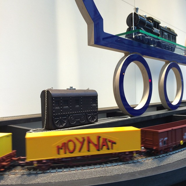 Moynat train bag