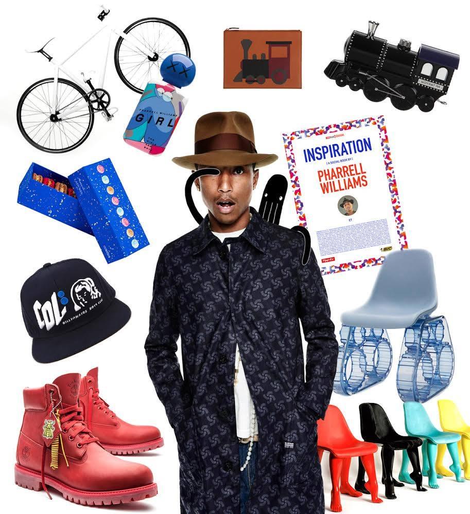 pharrell colette week