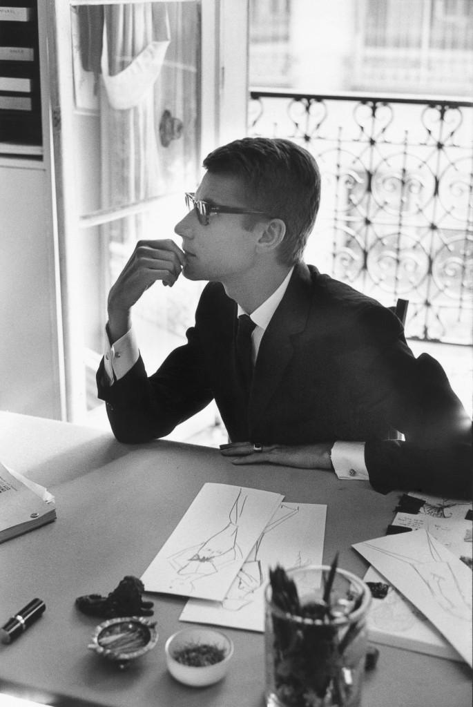 Marc Riboud, Yves Saint-Laurent,1964_Tirage argentique, signé_40x40 cm_Marc Riboud-Galerie Arcturus (3)