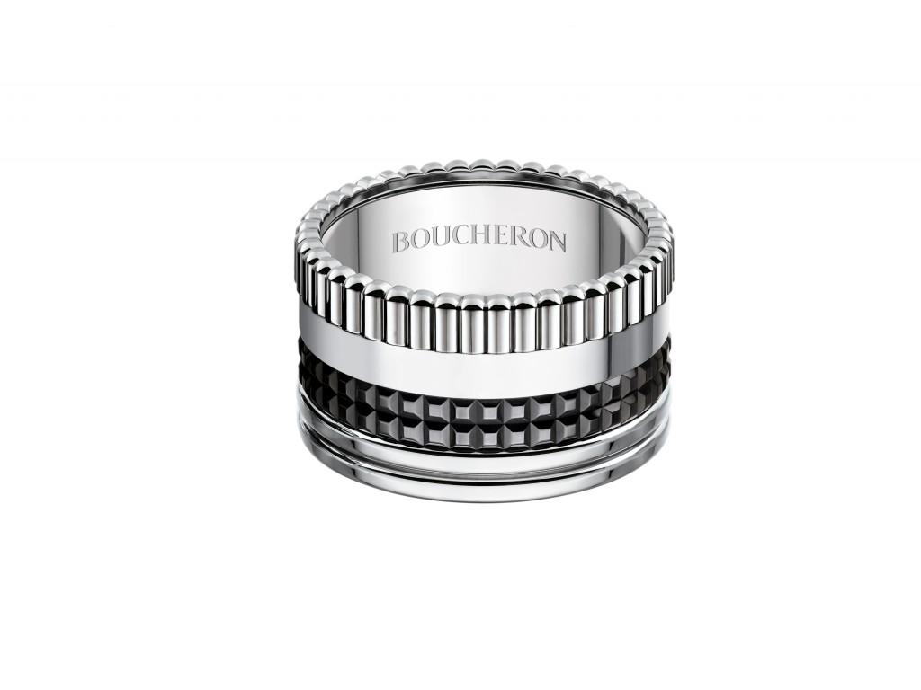 Quatre Black Edition Large Ring