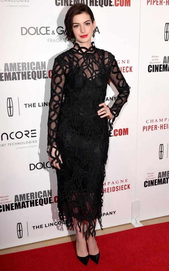 annehathaway in christopher kane