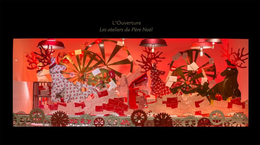 3 - Vitrines Noël Bon Marché 2014