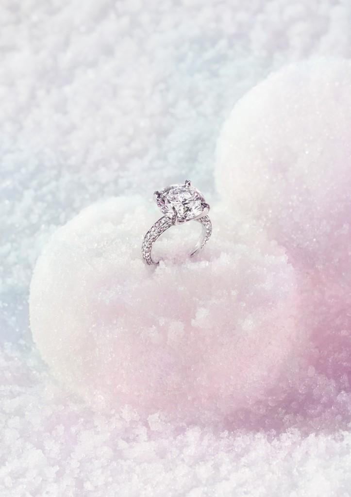 Still life picture - diamond ring