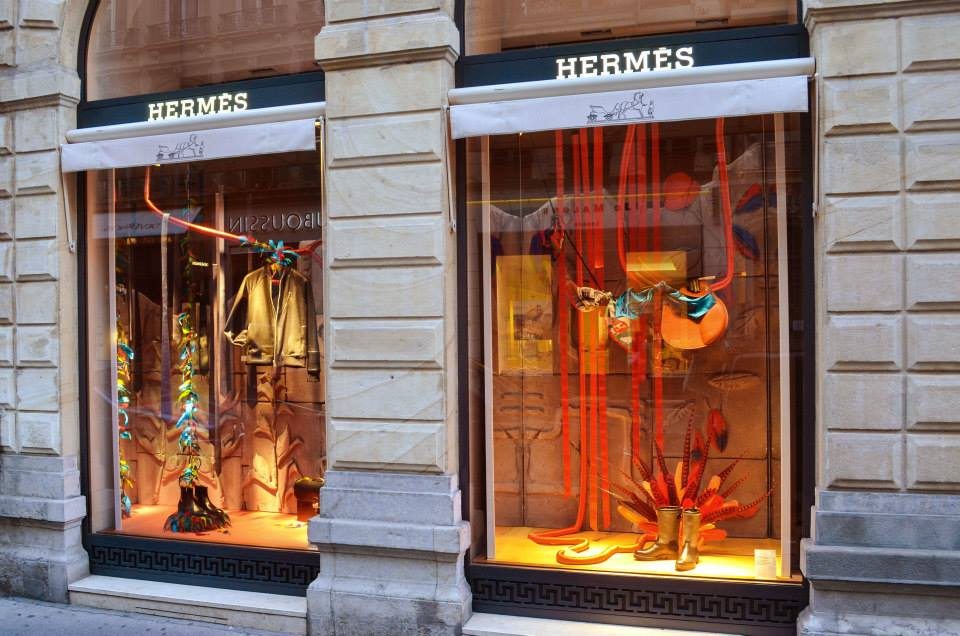 vitrine hermès lyon 06