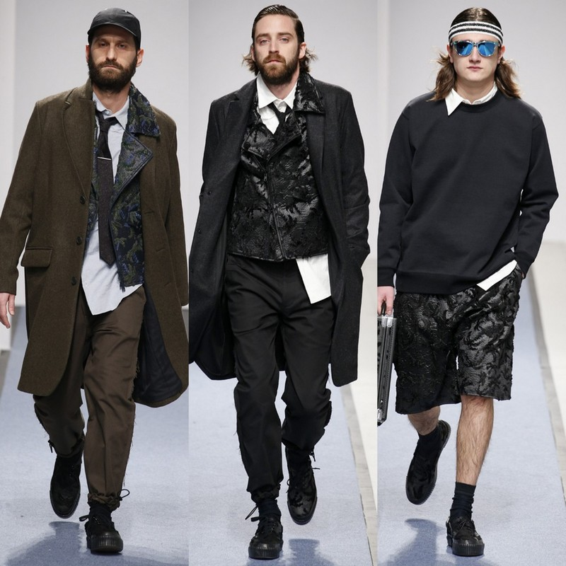 Julien David Hommes AW151