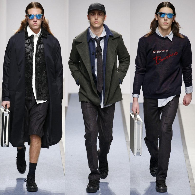 Julien David Hommes AW152