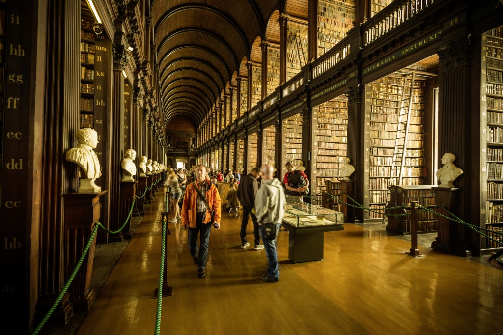 Library, Great room, Trinity College