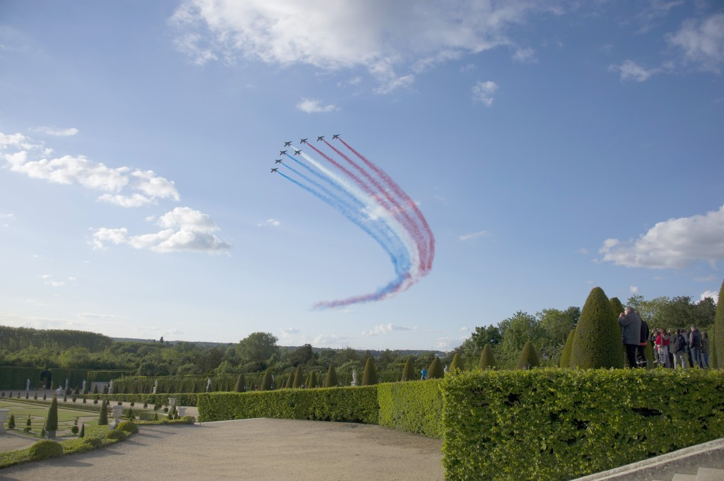 Martell Cognac Celebrates Its 300th Anniversary At The Palace Of Versailles - Champagne Reception & Patrouille de France Flyover