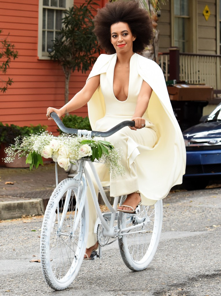 INF - Solage Knowles and Alan Ferguson Have A Second Line Parade After Their Wedding Reception Where All Of The Guests, Including Beyonce And Jay Z, Were Dancing In The Streets Of New Orleans