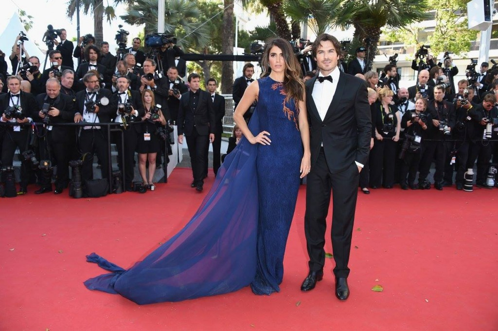 ian somerhalder et nikki reed sa femme red carpet