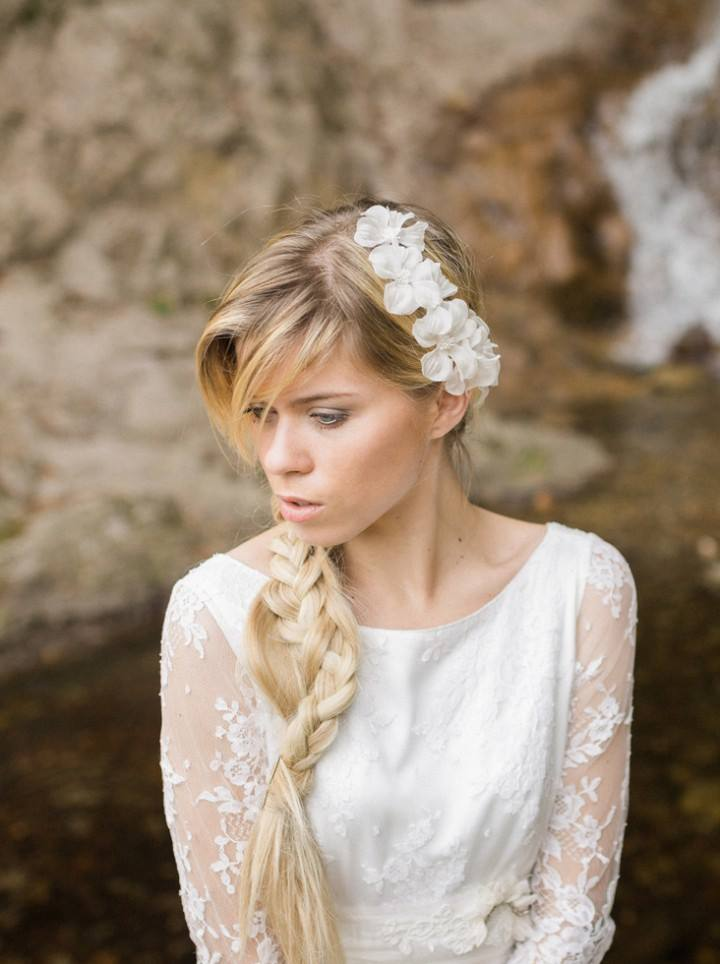 couronne mariée fleurs soie julia