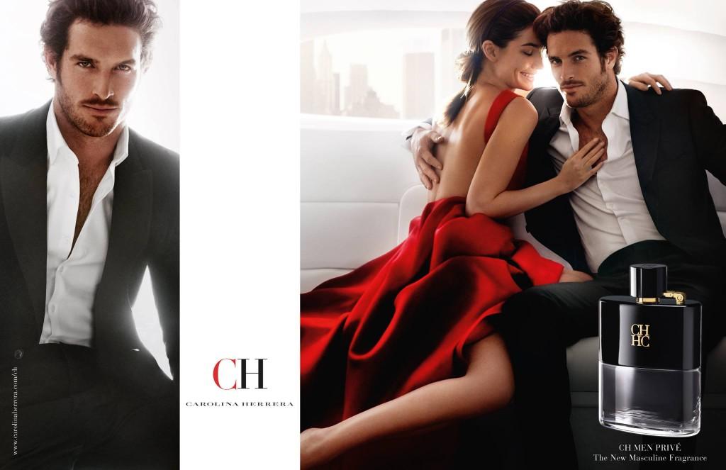 CH Perfume by mario testino