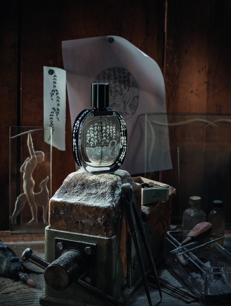 diptyque - L'Ombre dans l'eau - Gravé Noël15 ambiance