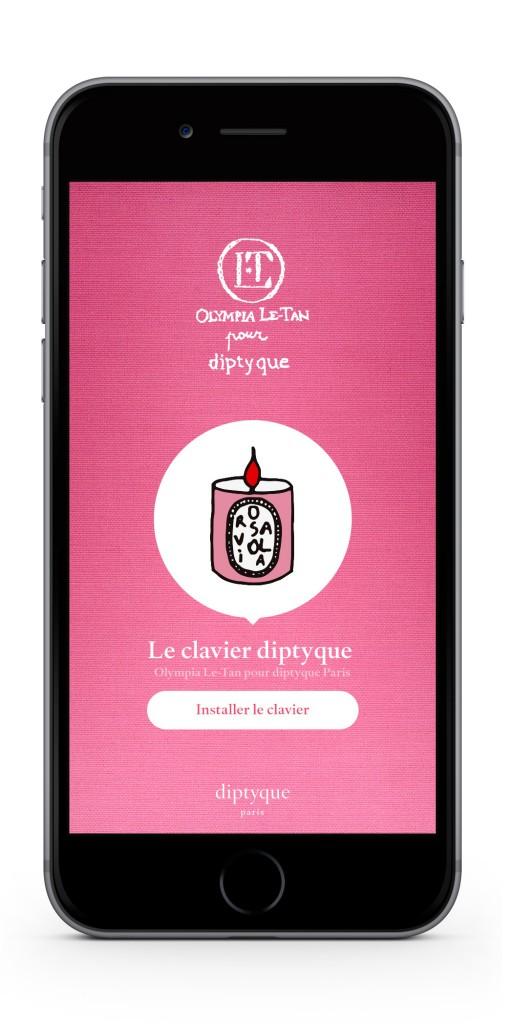 diptyque par Olympia Le-Tan - Ecran Emoji FR