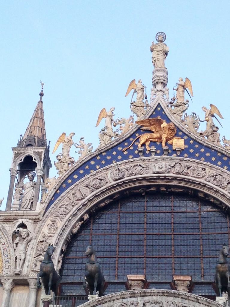 San Marco Basilica Lion restoration 19