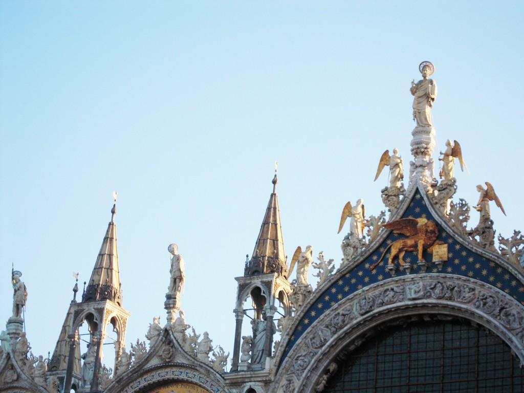 San Marco Basilica Lion restoration 20