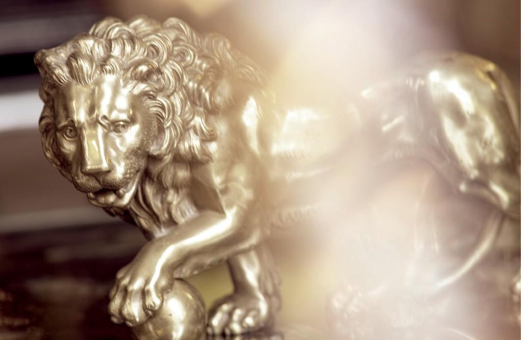 San Marco Basilica Lion restoration 23
