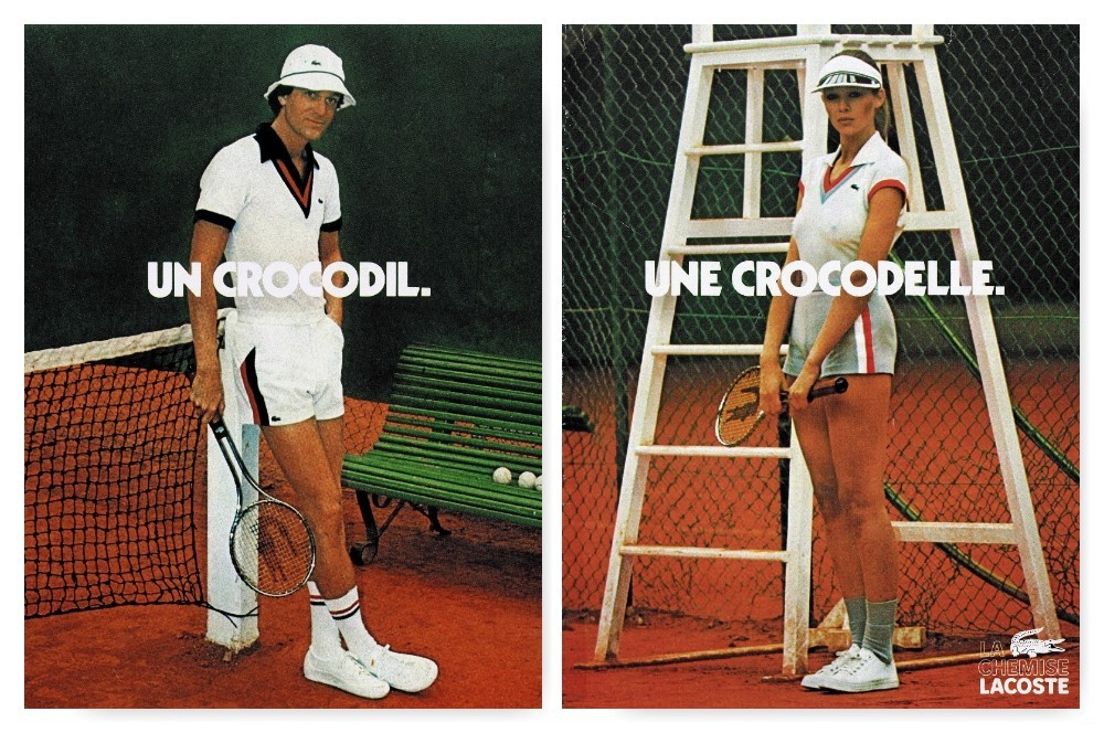 LACOSTE_Archives_Advertising_Une_Crocodile_Une_Crocodelle