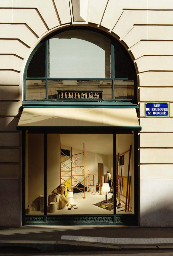 24 Faubourg Saint-Honore, Paris, automne 2015 Grande vitrine