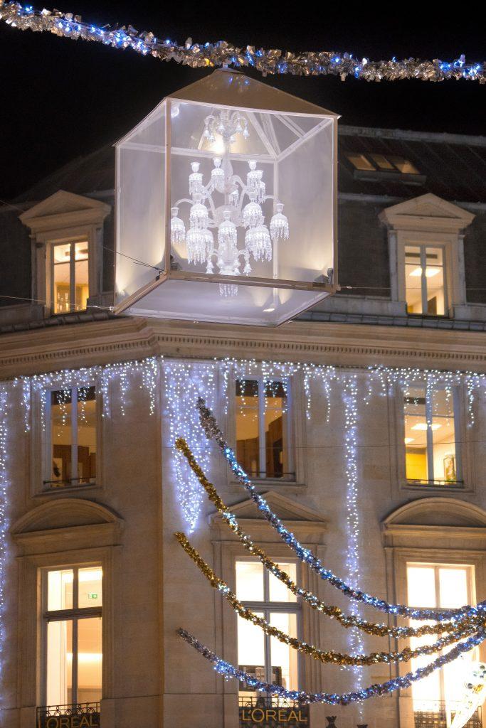 Baccarat illumine le faubourg Saint-Honoré_1 c Laurent Parrault