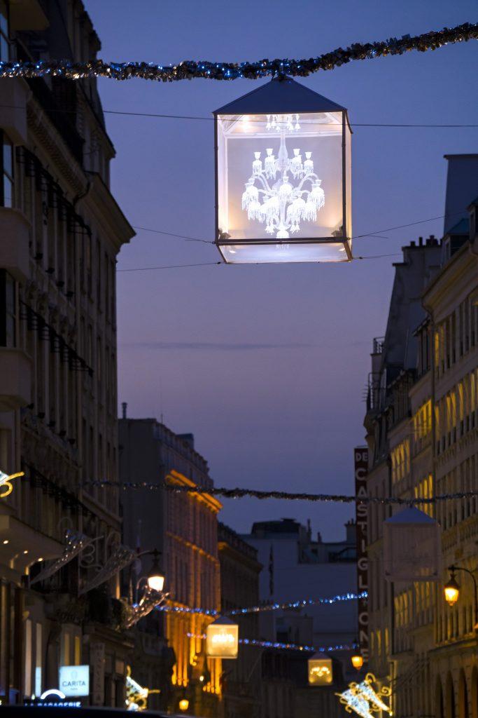 Baccarat illumine le faubourg Saint-Honoré_2 c Laurent Parrault