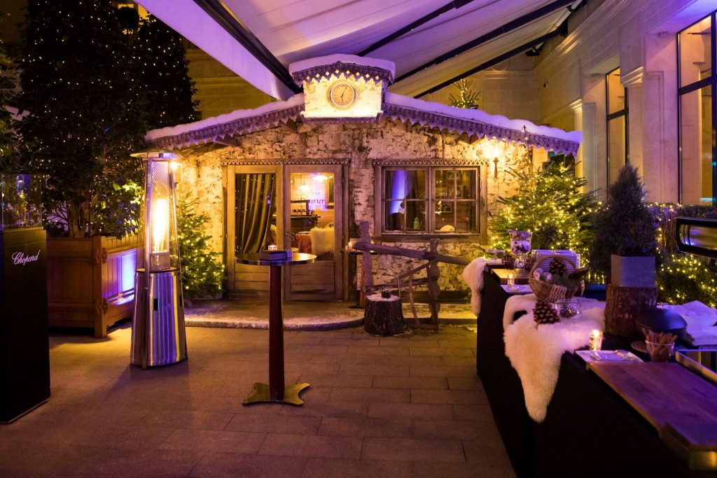 le chalet fleurier chopard du park hyatt paris vend me maryo 39 s bazaar. Black Bedroom Furniture Sets. Home Design Ideas