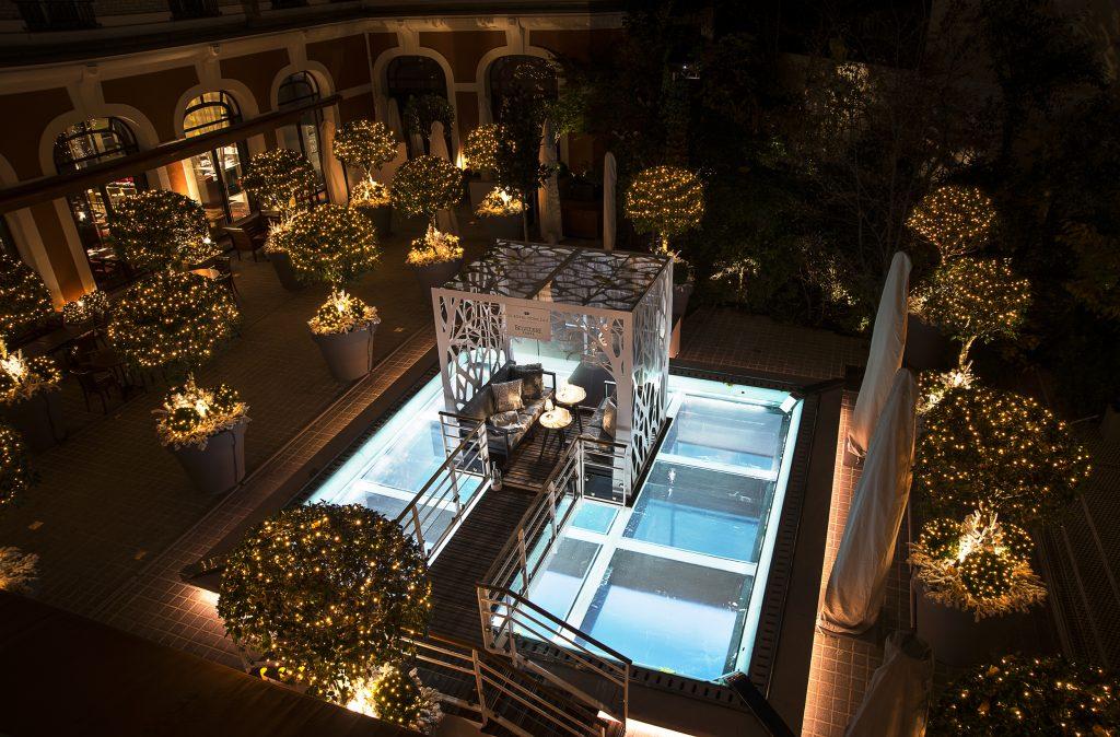 Belvedere - Jardin d'hiver au Royal Monceau HD