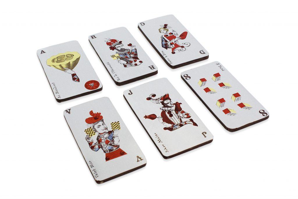 Cartes de jeu 2 c Maison Chaudun