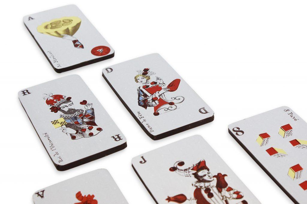Cartes de jeu 3 c Maison Chaudun