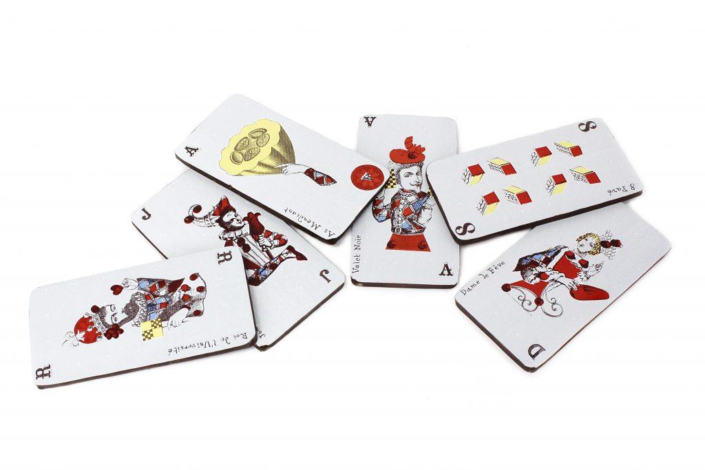 Cartes de jeu 4 c Maison Chaudun