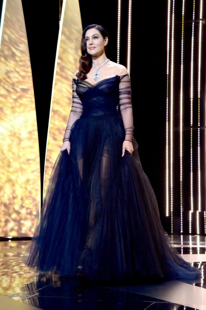 Monica Belluci in Dior