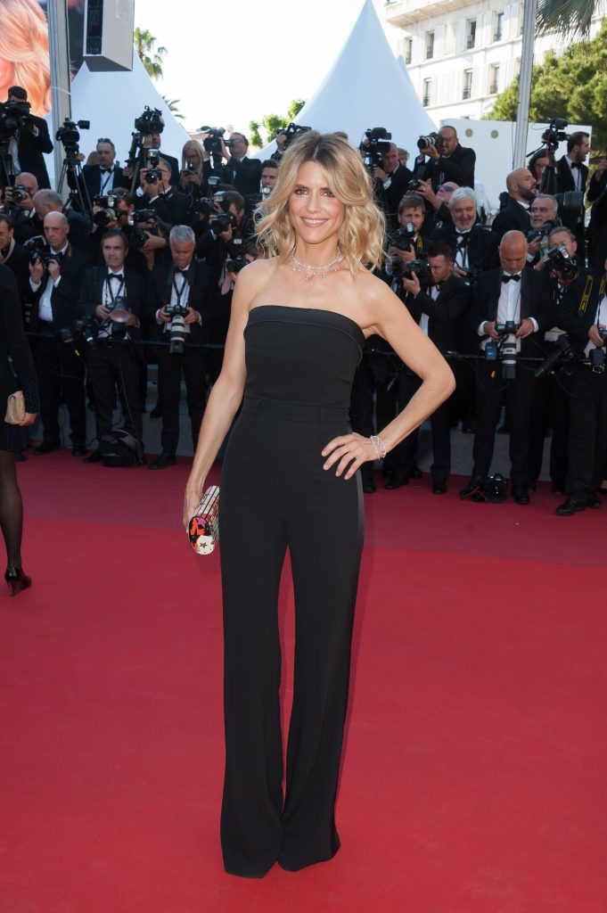 Alice Taglioni arriving on the red carpet of Les Fantomes d Ismael screening and opening ceremony held at the Palais Des Festivals in Cannes, France on May 17, 2017 as part of the 70th Cannes Film Festival. Photo by Nicolas Genin/ABACAPRESS.COM | 593017_023 Cannes France