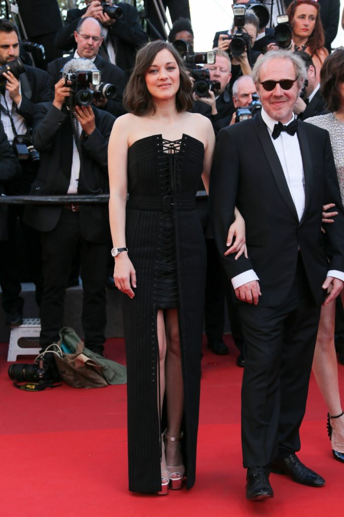 Marion-Cotillard-en-Jean-Paul-Gaultier-et-Arnaud-Desplechin