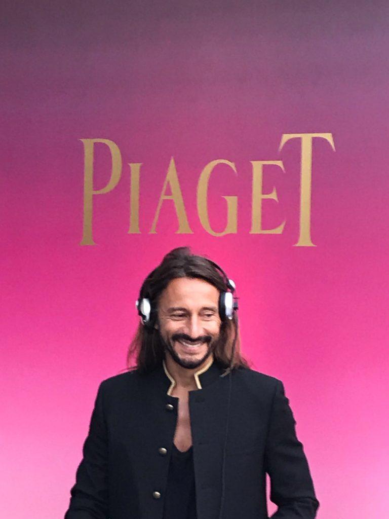 Bob Sinclar Piaget Monaco_Hotel de Paris_Sunlight Journey_Haute Joaillerie