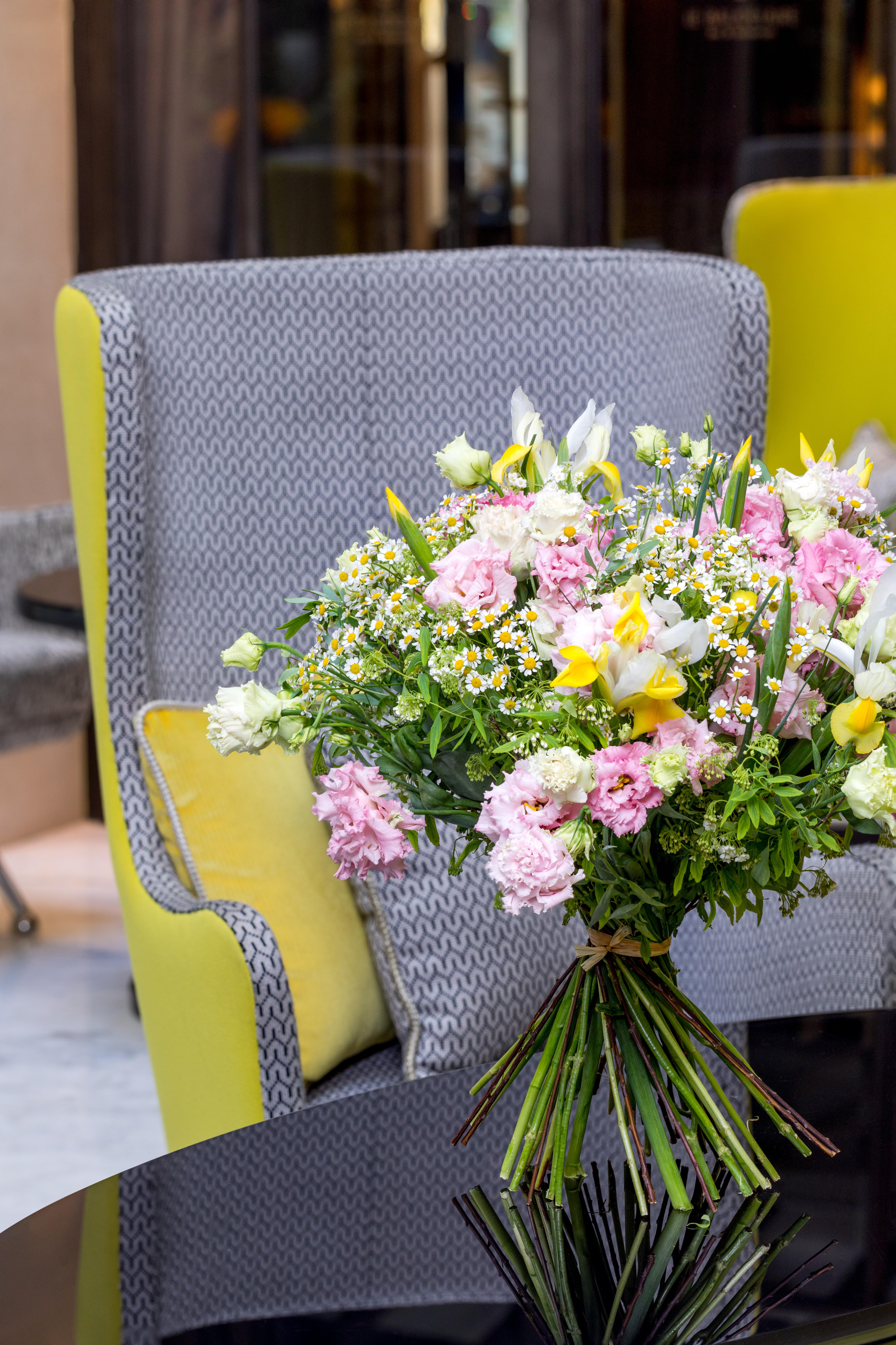Bouquet Lachaume -Fête des Mères au Burgundy Paris ©Julie Limont