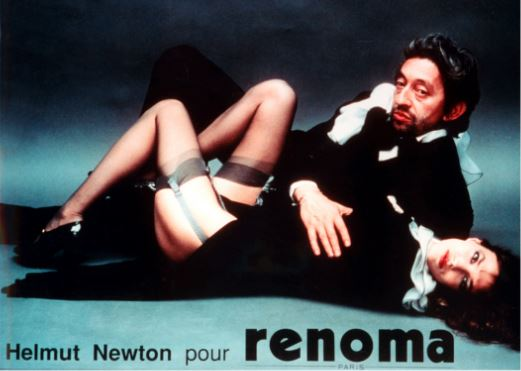 Helmut Newton pour renoma