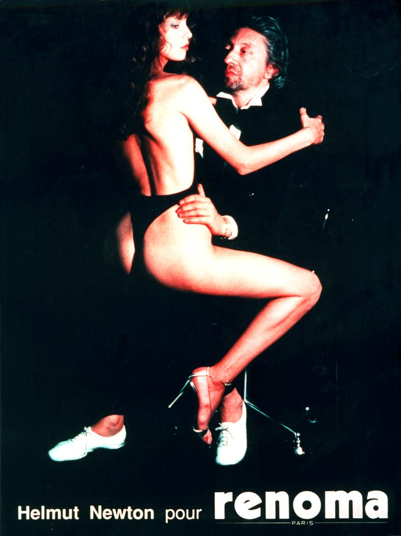 Jane et Serge par Helmut Newton