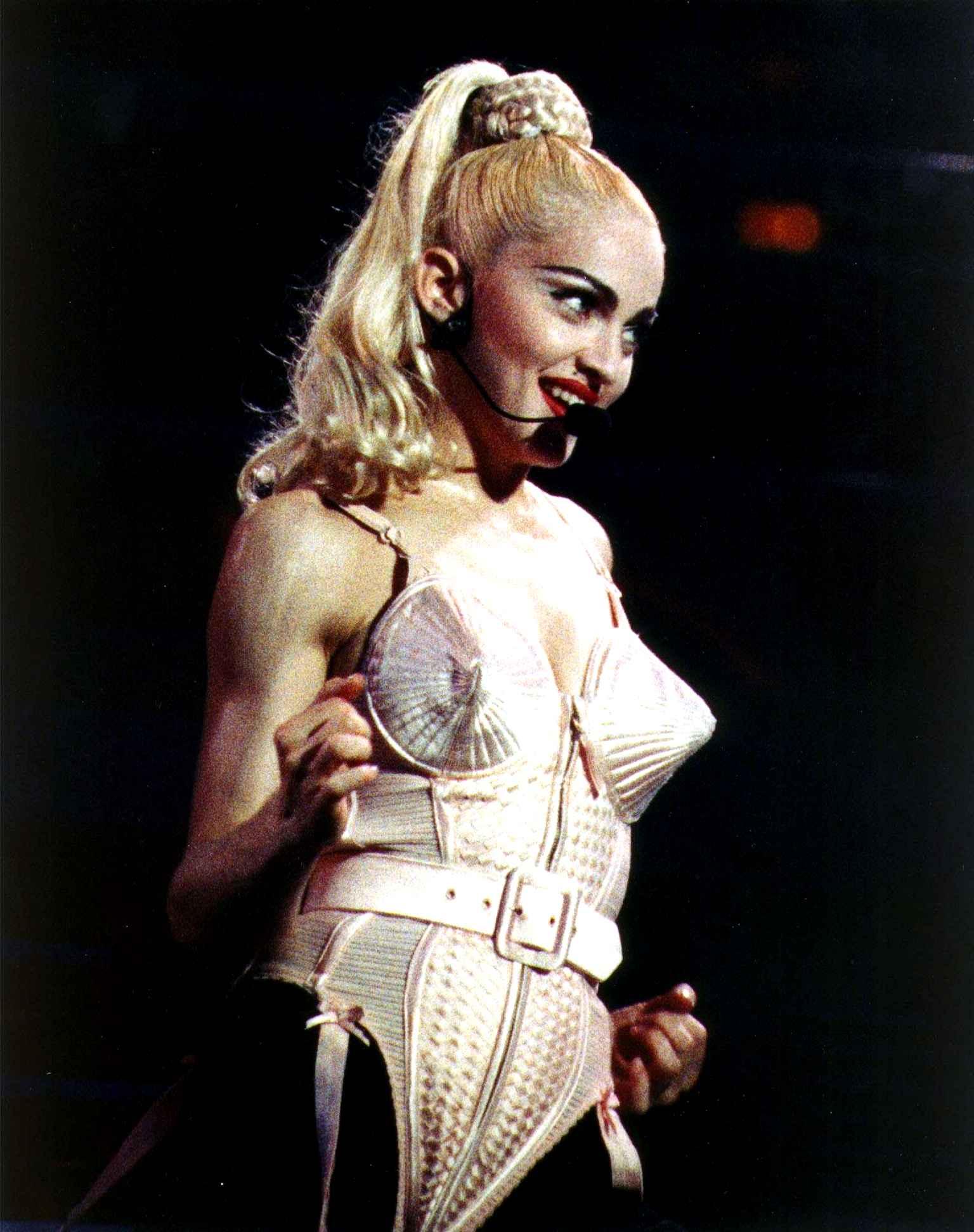 madonna jean-paul gaultier corset