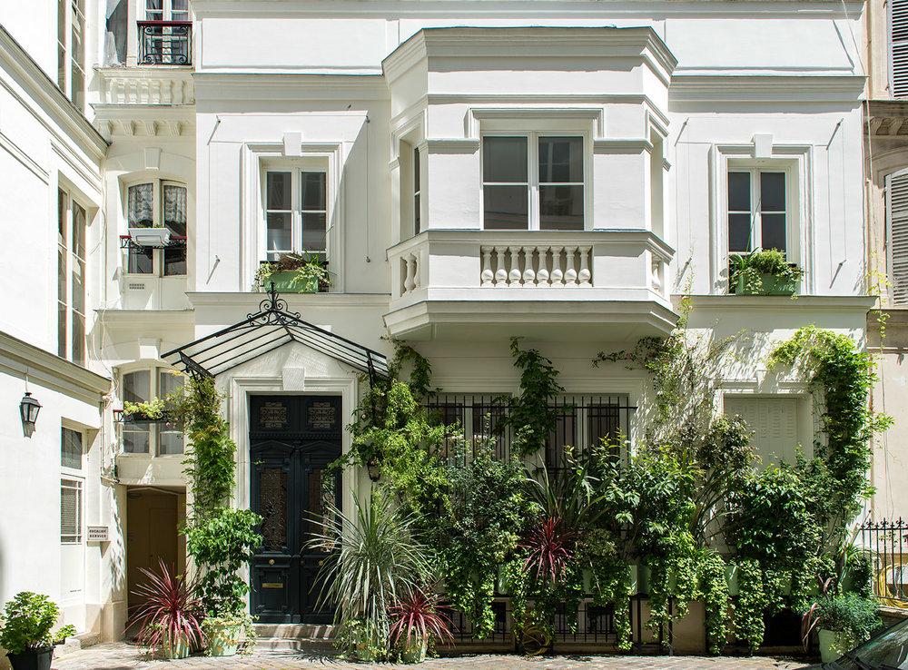 Villa+Rose,+vue+depuis+la+cour-